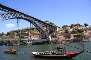 Der Hafen in Porto