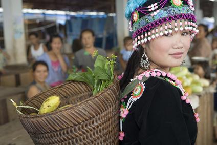Die Hmongs sind die bedeutendste Gruppe der Miao-Yao und in Laos sehr verbreitet