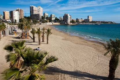 Strand von Alicante