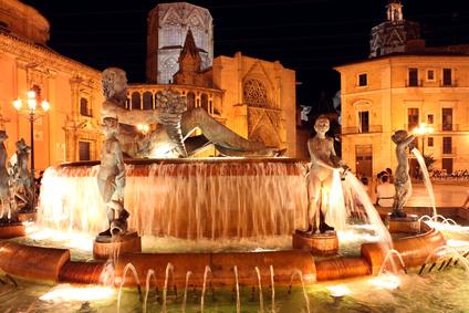 Neptunbrunnen Valencia