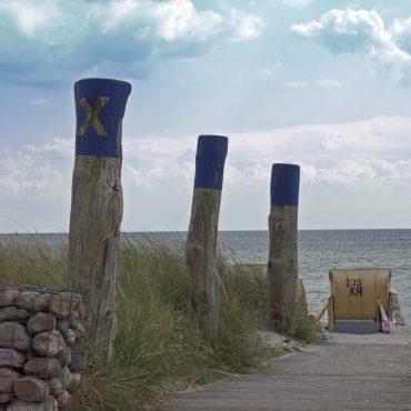 Blick auf den Strand von Fehmarn