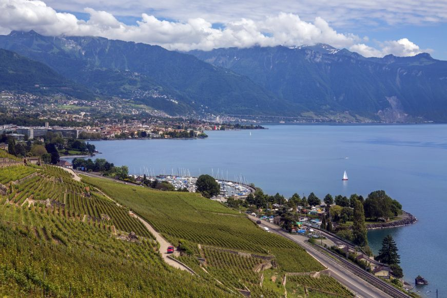 Wohnen wie die Weltmeister: Hotel Ermitage in Évian